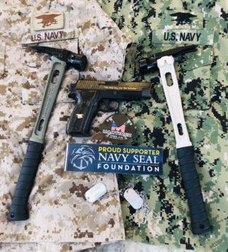 M1 Titanium Handle Military Custom Framing Hammer Build